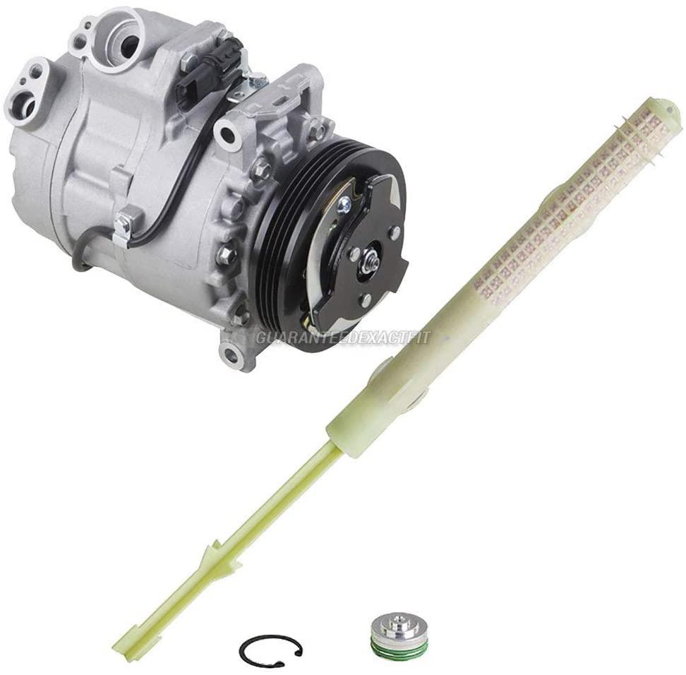 For BMW X5 2007-2013 AC Compressor w/A/C Drier - BuyAutoParts 60-88509R2 New