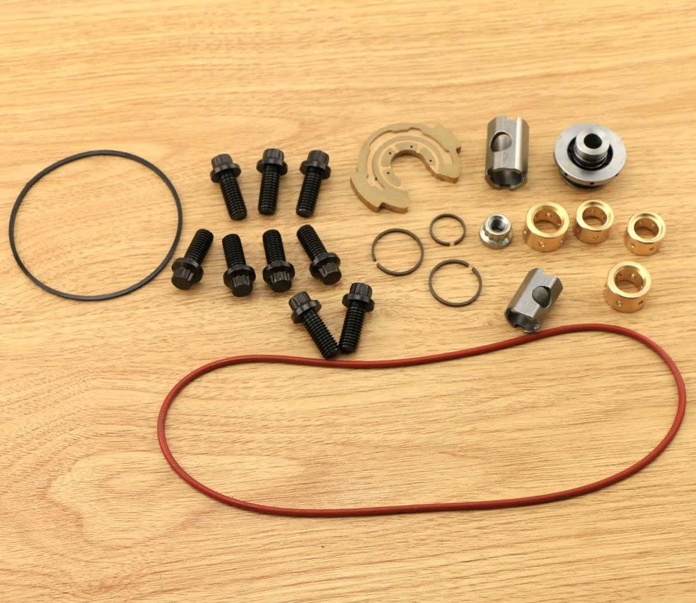 Turbocharger Rebuild Kit replacement for Ford 6.0 L Powerstroke UPGRADED Garrett GT3782VA turbo