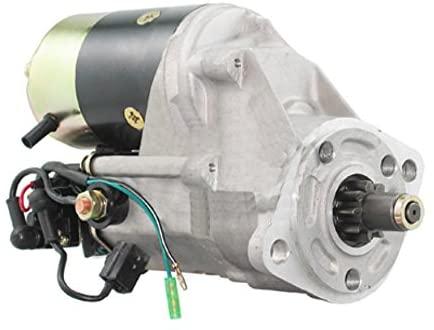 Rareelectrical 24V STARTER COMPATIBLE WITH ISUZU ENGINE 4BA1 4BB1 4BD1 C330 C330M 5811000131 9821001430