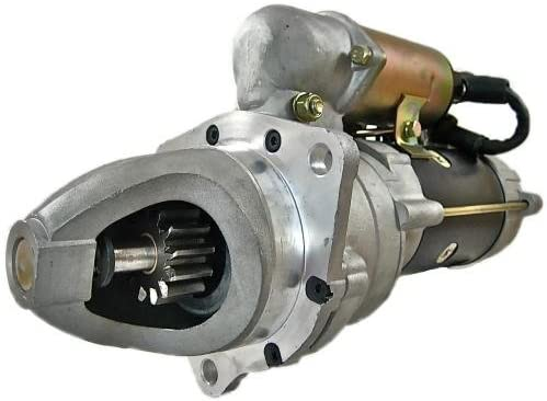 Rareelectrical NEW 24V STARTER COMPATIBLE WITH KOMATSU GENERATOR COMPATIBLE WITH EG150B EG150BS 6D105 ENGINE 6008133280