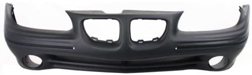Make Auto Parts Manufacturing - FRONT BUMPER COVER; FOR SE MODELS; PRIME/PAINT TO MATCH FINISH - GM1000512