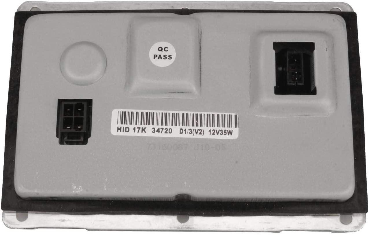 Bapmic 3D0907391B Xenon HID Ballast Headlight Control Unit for Cadillac Audi Chrysler Volkswagen Volvo Jaguar