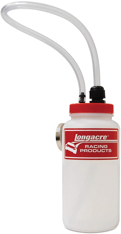 Longacre 52-45198 Brake Bleeder Bottle w/Magnet and Check Valve