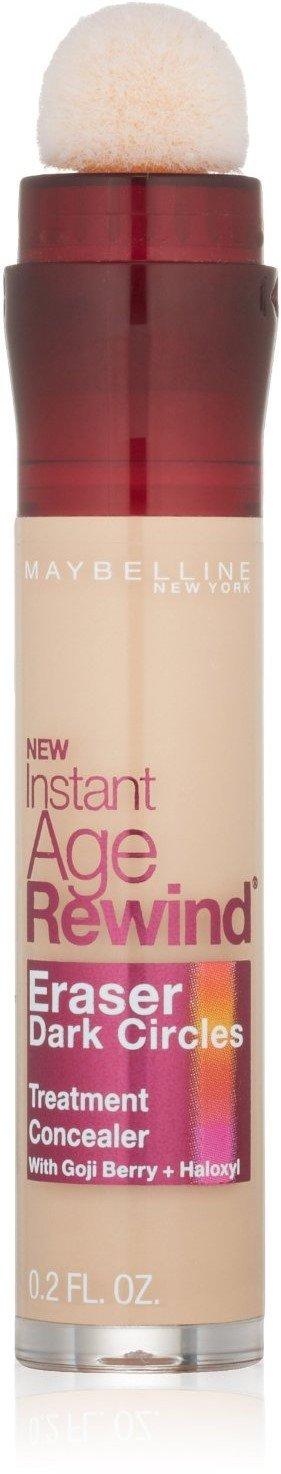 Maybelline Instant Age Rewind Eraser Dark Circles Treatment Concealer, Light 0.2 oz (Pack of 6)