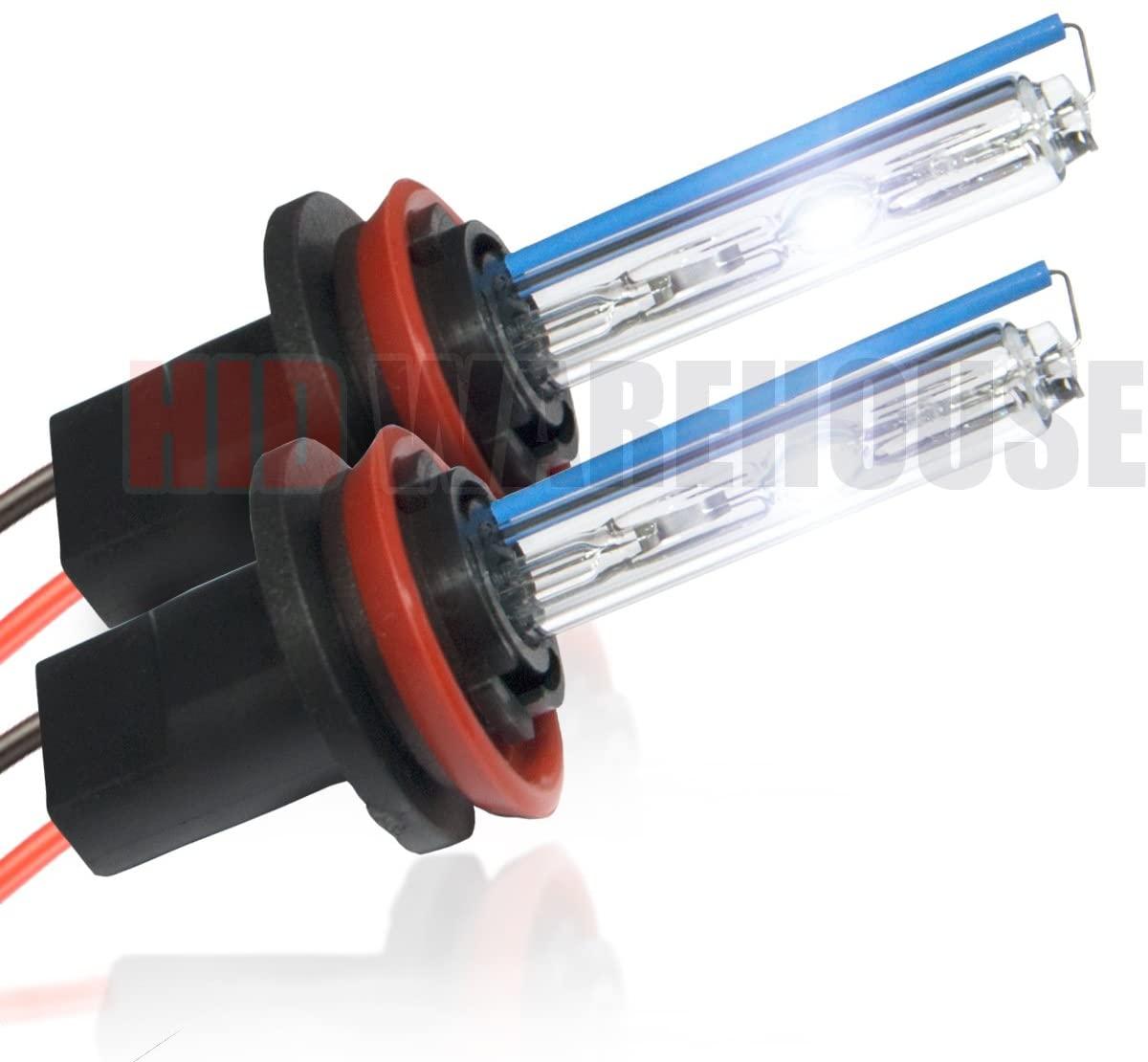 HID-Warehouse HID Xenon Replacement Bulbs - H11 8000K - Medium Blue (1 Pair)