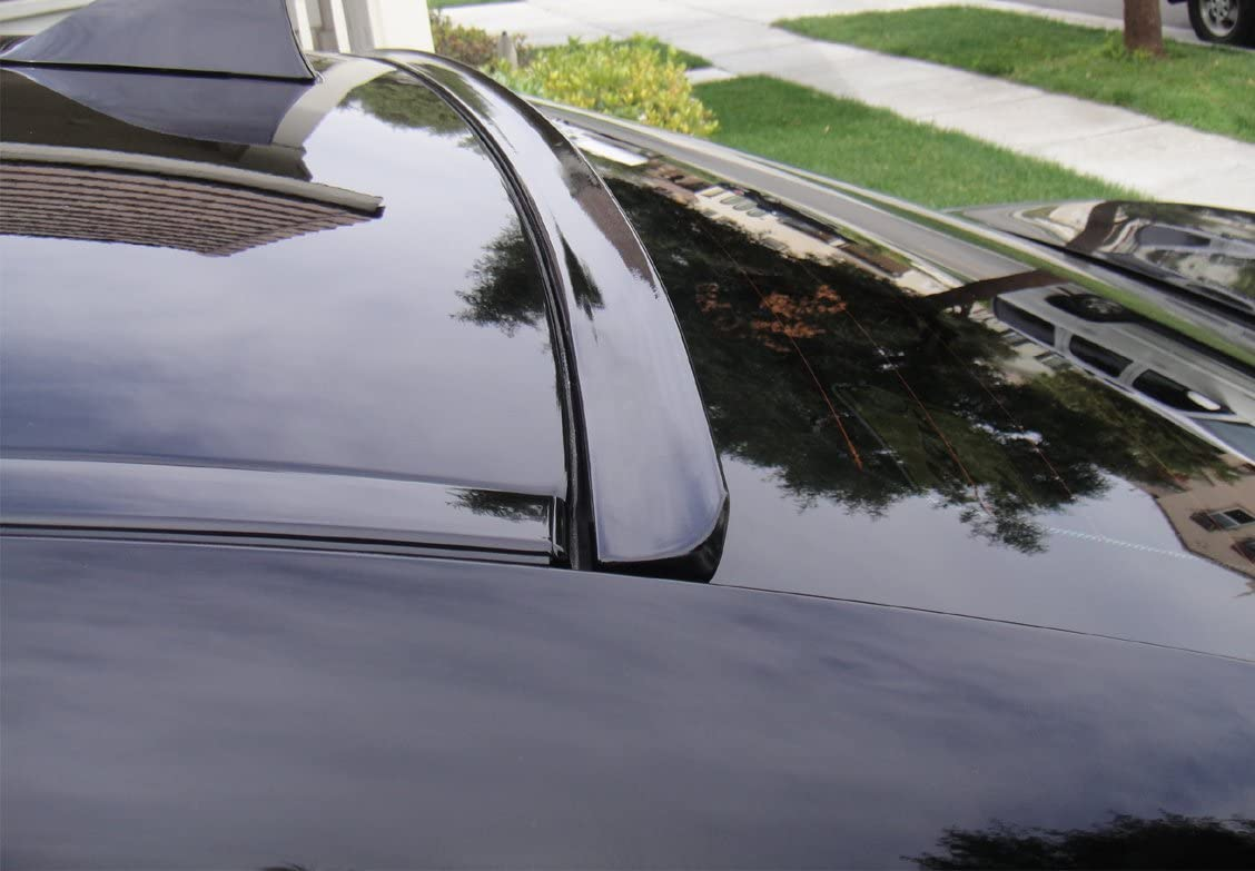 JR2 Painted Black Color for 2008 2009 2010 2011 2012 2013 2014 Infiniti G37 2D Coupe Rear Window Roof Spoiler