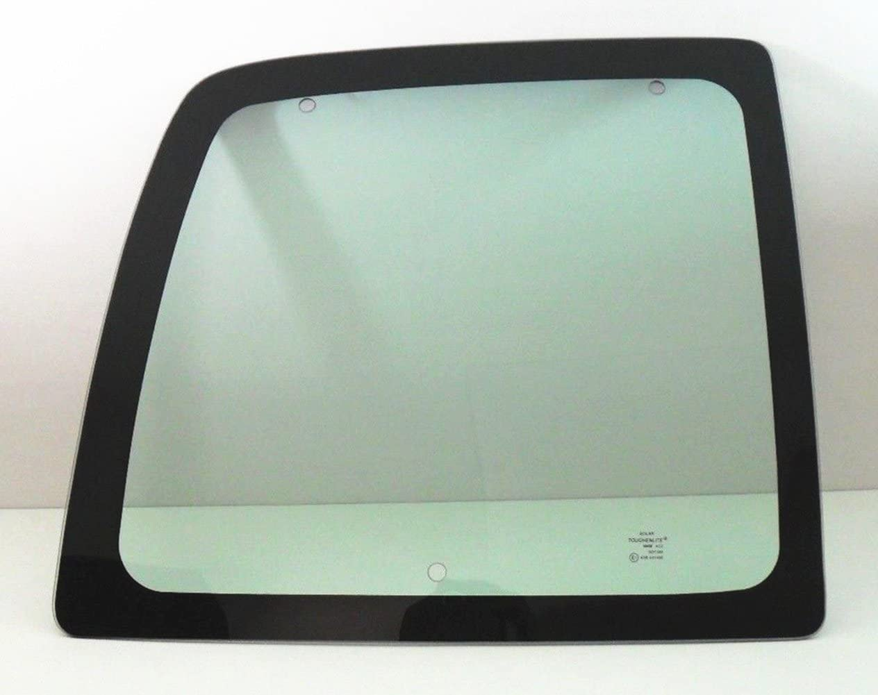 NAGD Movable Back Window Back Glass Driver Left Side Compatible with Chevrolet Express/GMC Savana 1996-2002 Models
