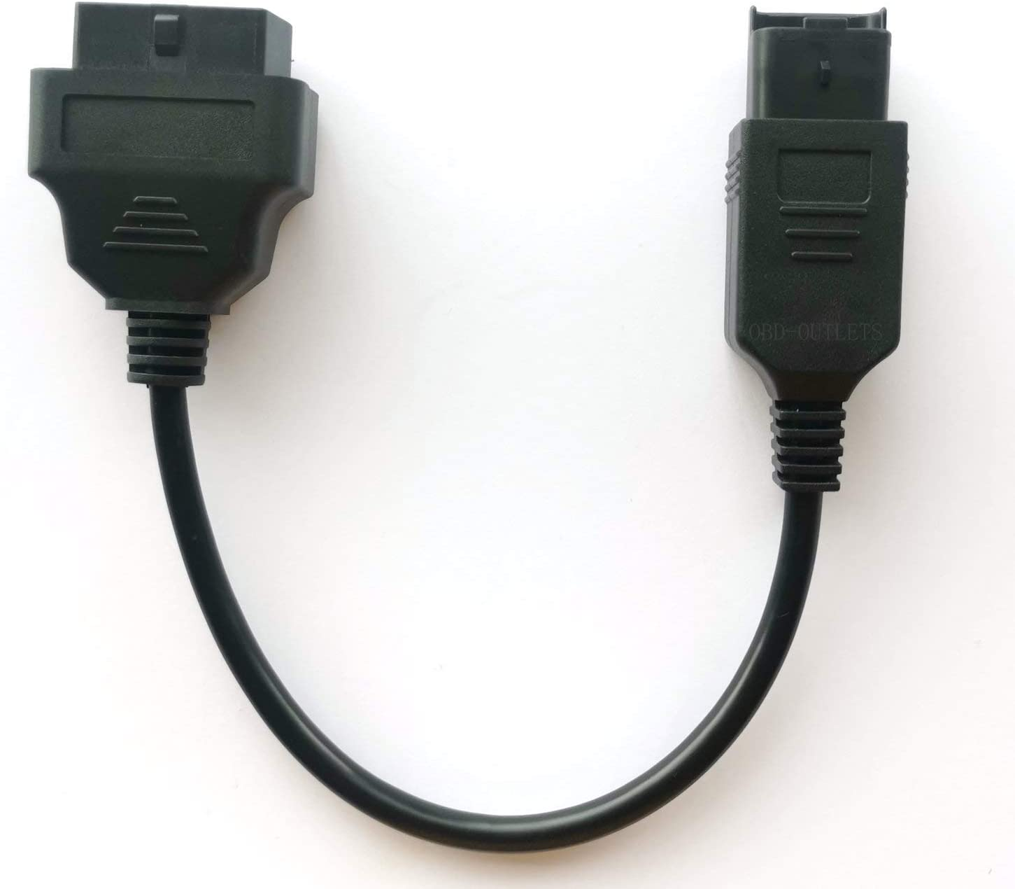Motorbike OBD 4 Pin Diagnostic Adapter for Du-Cati, Multistrada Motorcycle OBDII DDA Can-Bus Connector