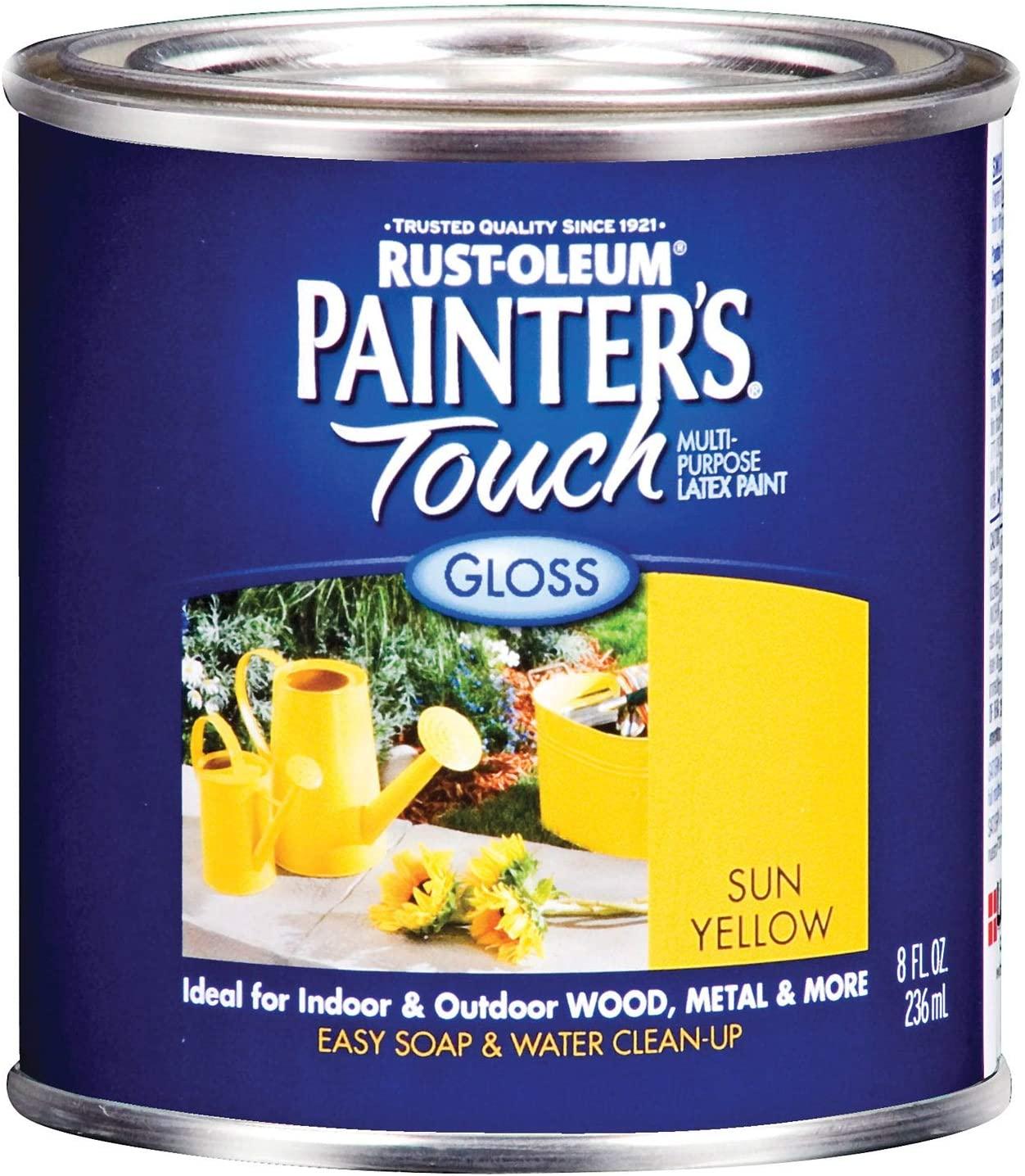 Painters Touch 1945-730 1/2 Pint Sun Yellow Multi-Purpose Paint