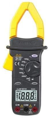 MeterTo Digital AC Clamp Meters AC/DC Voltmeter AC Ammeter Ohmmeter, LCD Backlight, 1000A