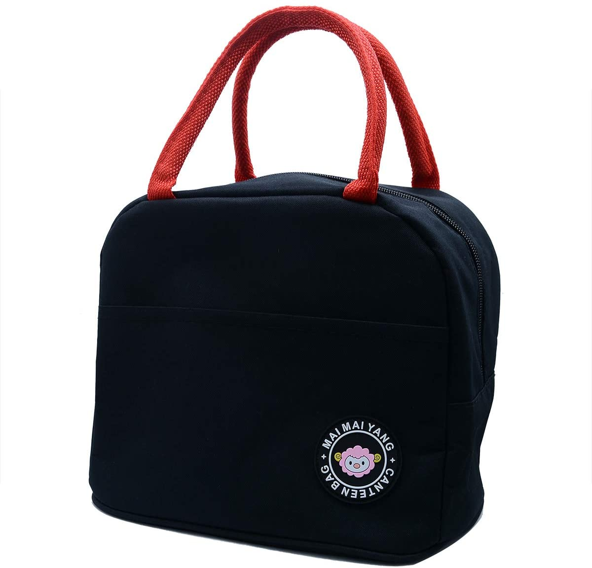 Insulated Lunch Bags for Adults,Men,Women, Waterproof Lunch Totes(Black)