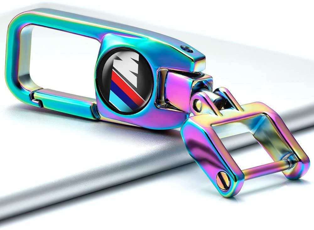 Colourful Car Key Chain Suit for BMW M M2 M4 M5 M6 M8 X1 X2 X3 X4 X5 X6 M135i M235i M240i Z4 328i X 7 Series keyring keychain Elegant