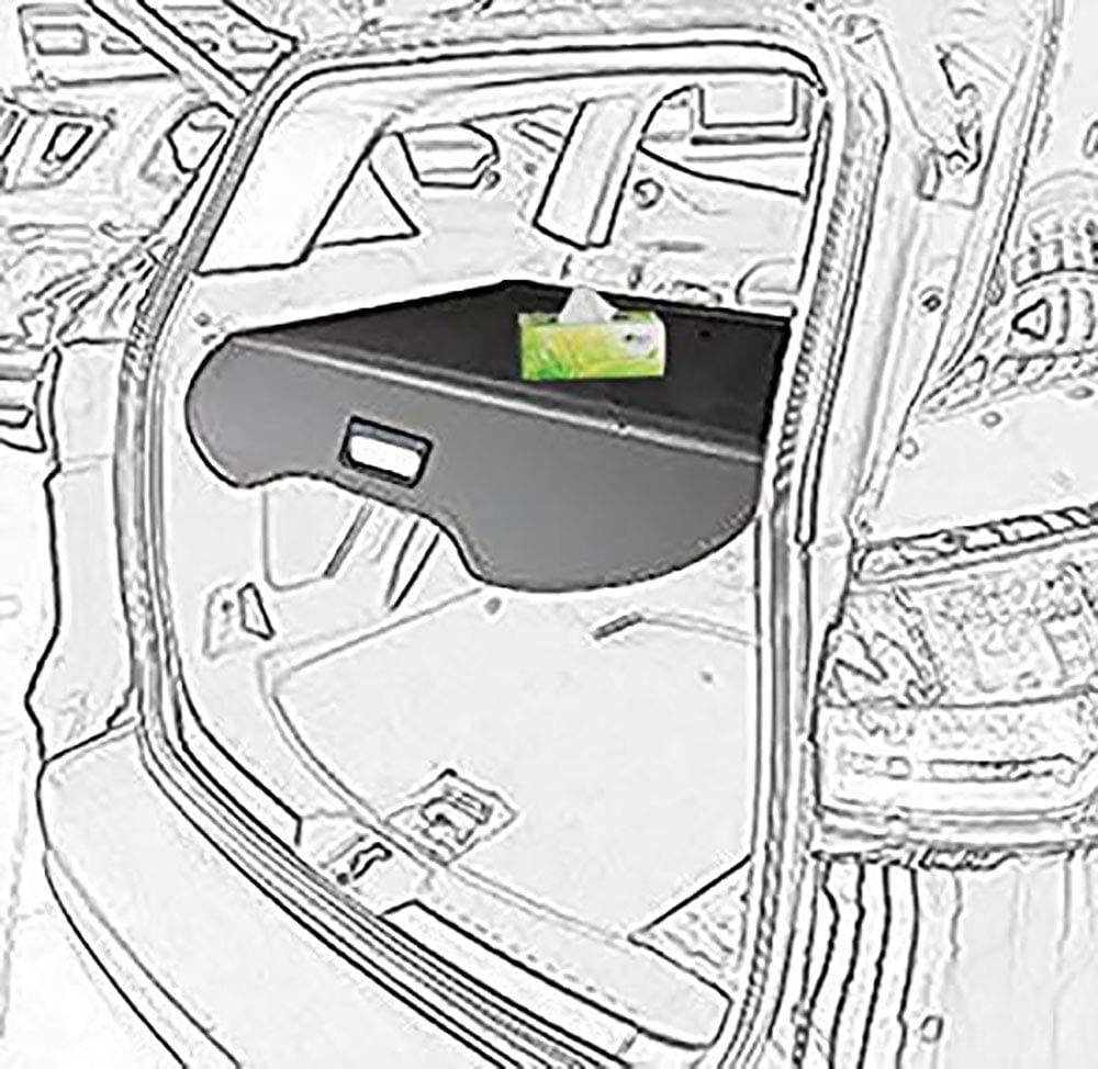 kongka Cargo Cover for 13-17 Ford Escape Cargo Cover Black Trunk Shielding Shade
