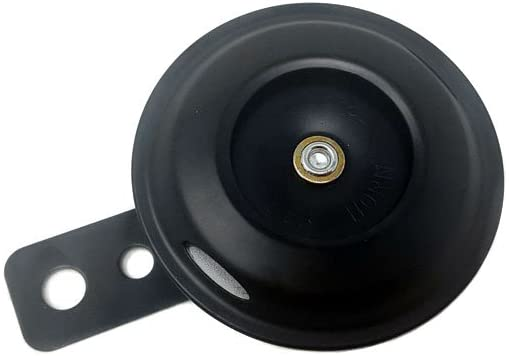 Powersports Horn 12V 1.5A 105db - Universal Fit Waterproof Round Speaker Horn Motorcycle Scooter