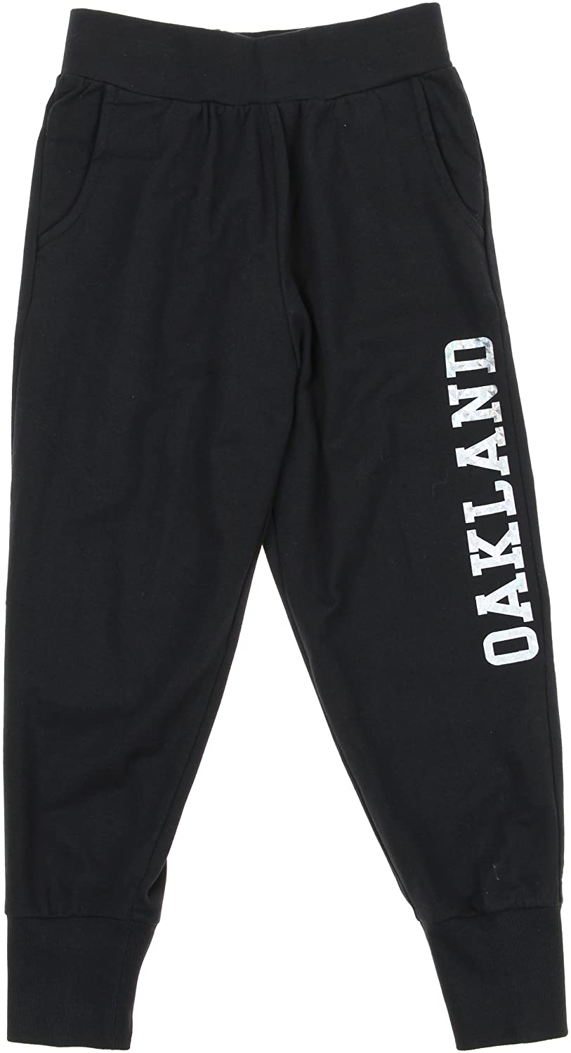 Outerstuff NFL Youth Girl's Athletic Diamond Cut Joggers, Multiple Teams