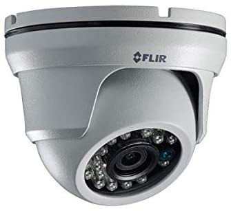 FLIR Digimerge ME323 Outdoor 4-in-1 Security Dome Camera, 1MP HD Fixed MPX, 3.6mm, 90ft Night Vision, Works with AHD/CVI/TVI/CVBS/Lorex, Flir MPX DVR, White (Camera Only)