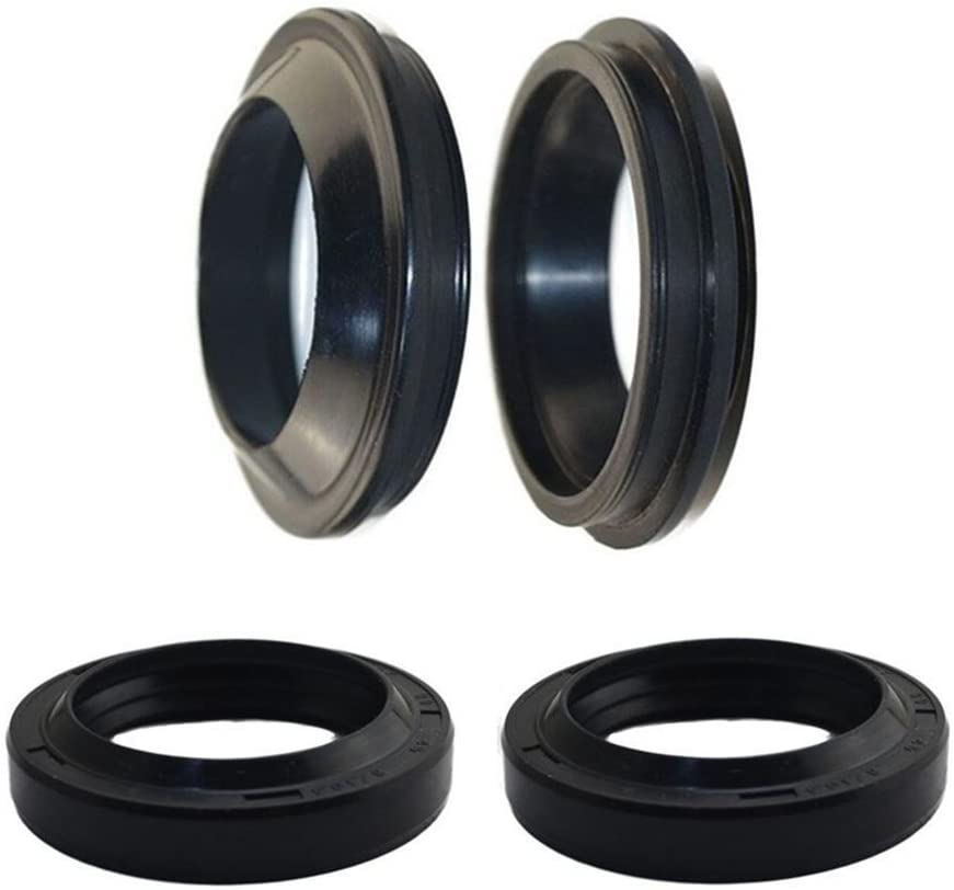 AHL Front Fork Shock Oil Seal and Dust Seal Set 39mm x 51mm x 8/11mm for Honda VT600C Shadow VLX 1988-2003