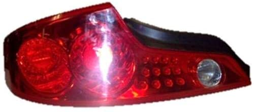 Go-Parts - for 2003 - 2005 Infiniti G35 Tail Light Rear Lamp Assembly Replacement - Left (Driver) 26555-AM825 IN2800114 Replacement 2004