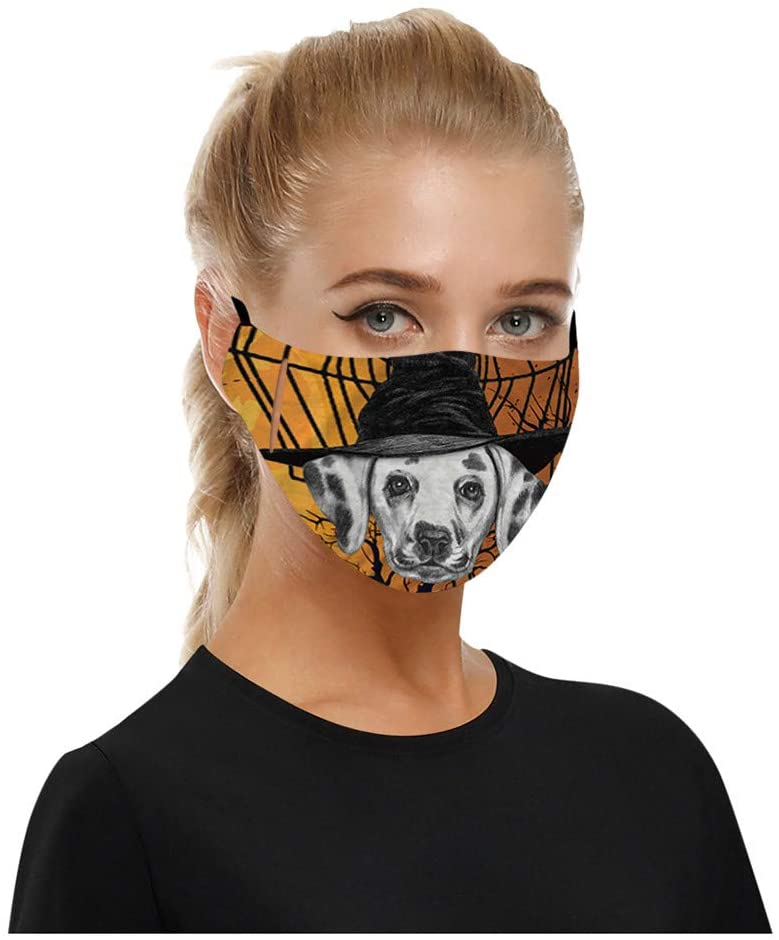 YoungGo 1PC Halloween Adult Face Cover Windbreak Seamless Outdoor Riding Quick-Drying Dustproof Breathable