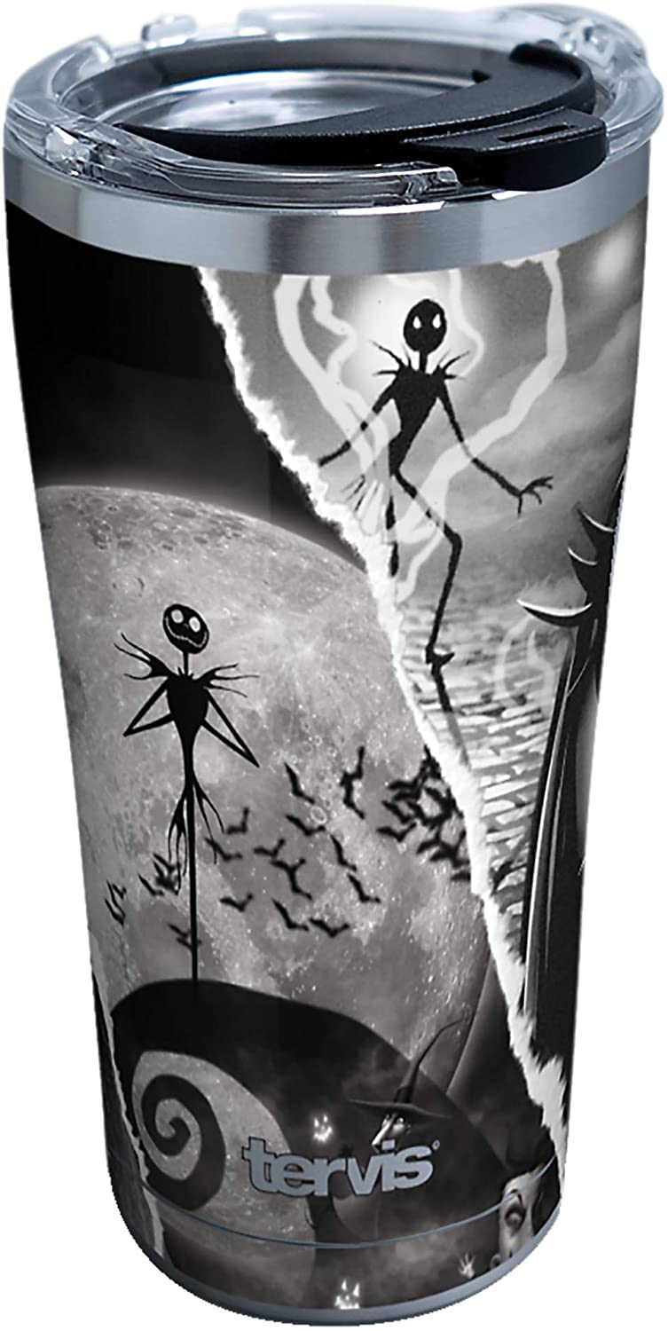 Tervis Disney - Nightmare Before Christmas - Torn Collage Insulated Tumbler, 20oz, Stainless Steel