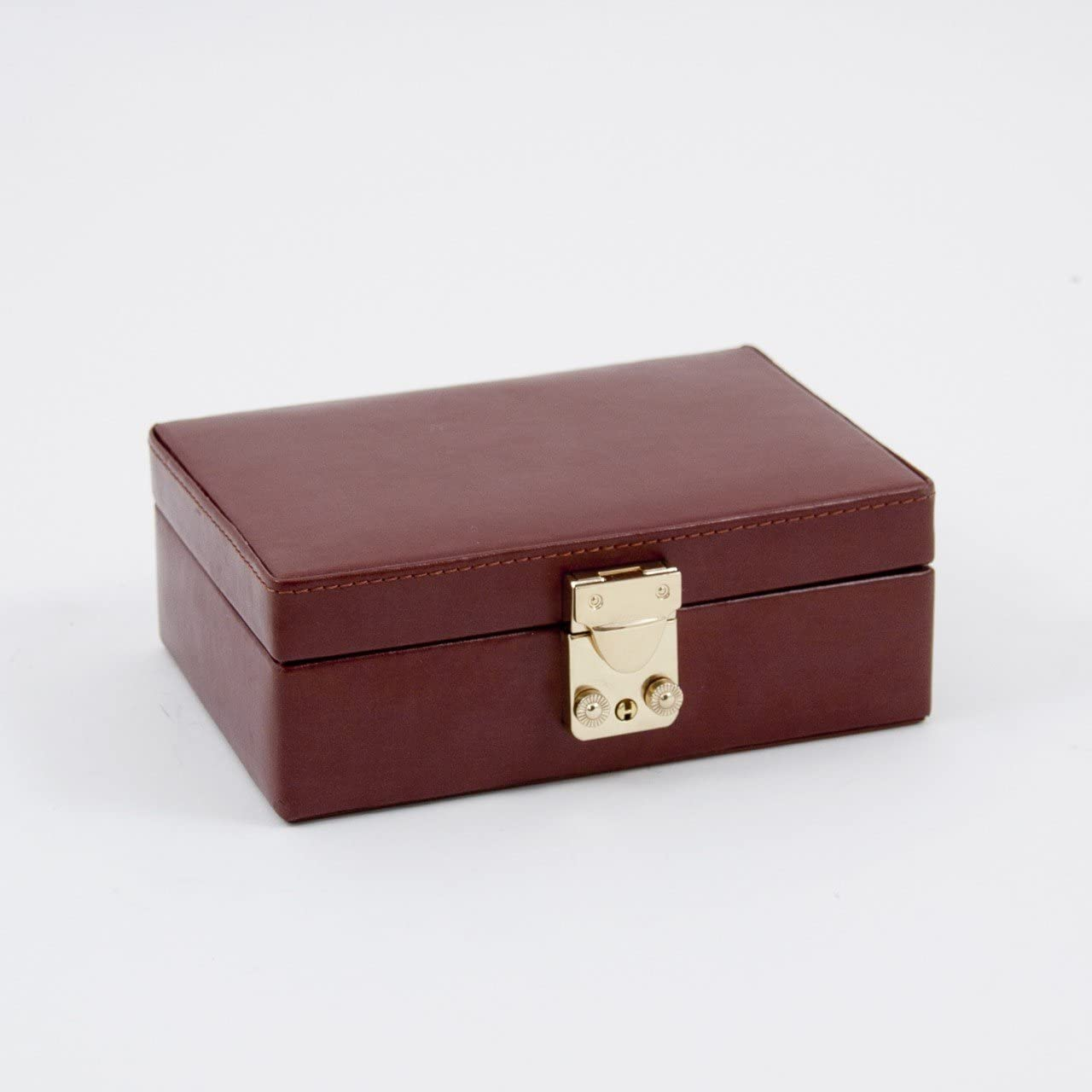 Men's Cufflink Box Color: Brown