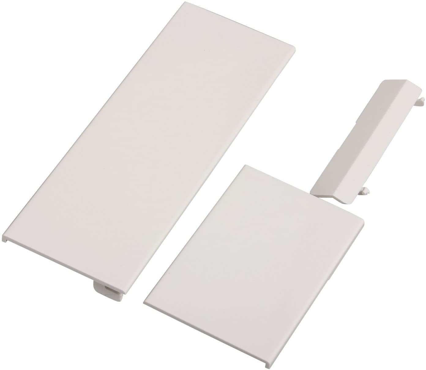 Suitable for Wii White Replacement Door,Timorn Replacement Repair Door for Wii Console Parts (1 Set White)