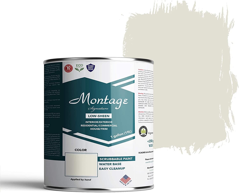 Montage Signature Paint 810593031509 Interior/Exterior Paint, 1 Gallon, Snow White