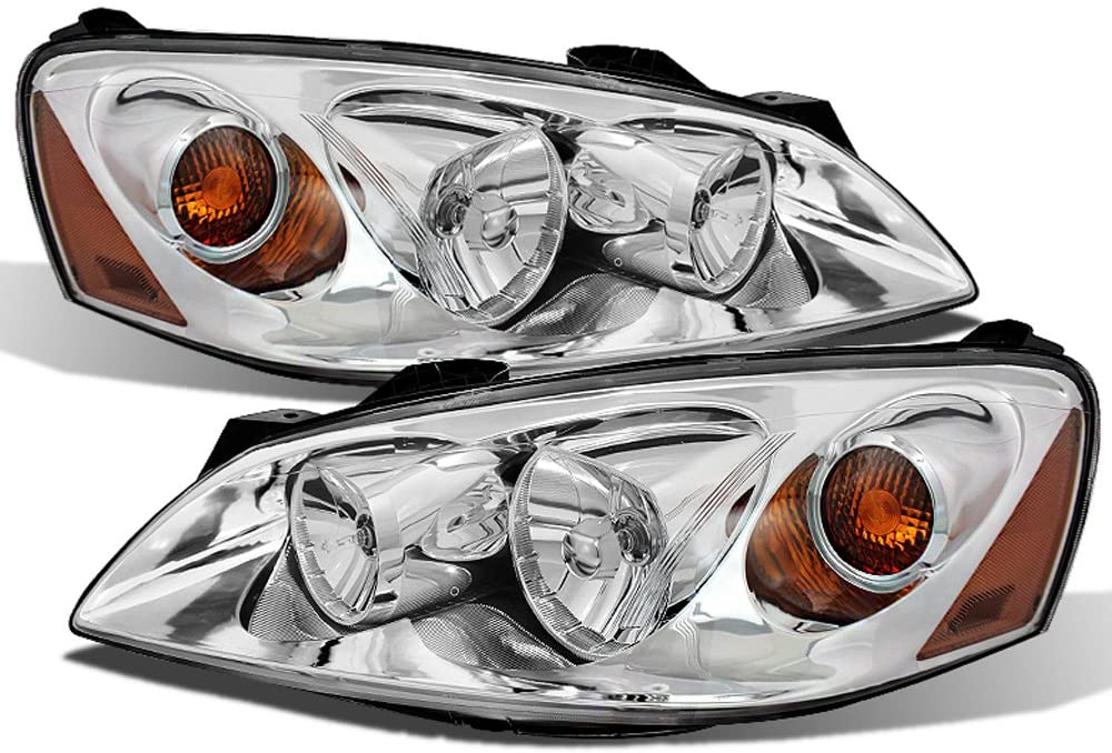 ACANII - For 2005-2010 Pontiac G6 [Factory OE Style] Headlights Headlamps Replacement Pair Set Driver + Passenger Side