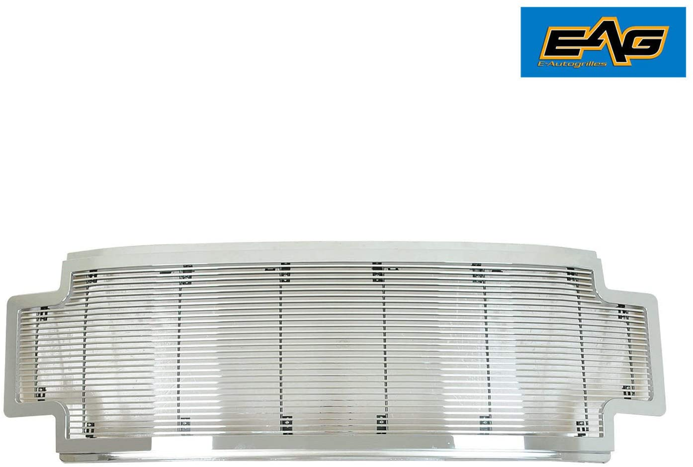 EAG Chrome Billet Grille+Shell Compatible with 17-19 F250/F350
