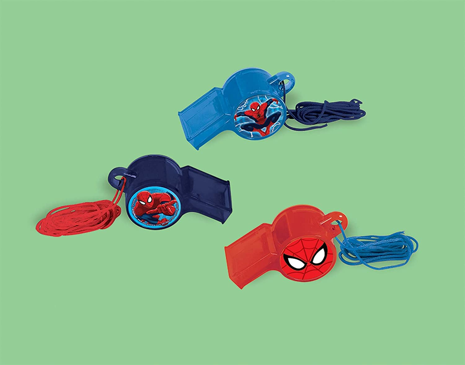 Amscan 397466 Marvel Spider-Man Whistle | Party Favor | 1 piece