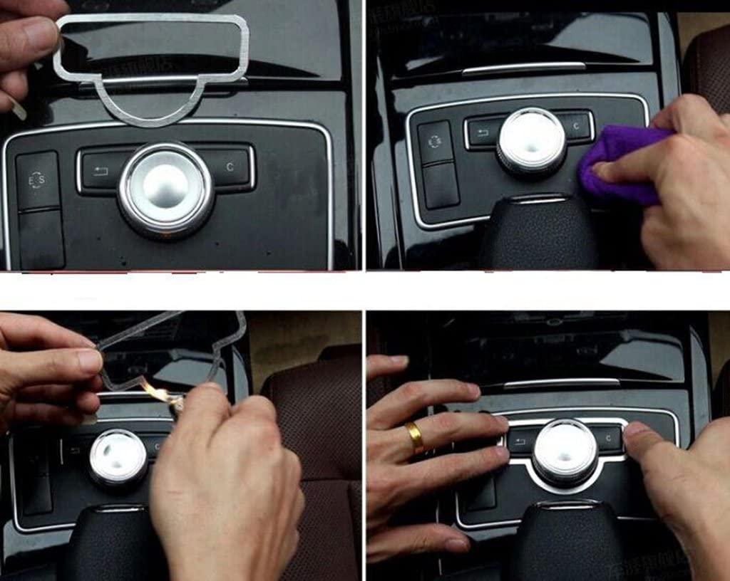 EpparChrome ABS Center Control Cover for Mercedes Benz E Class W212 2011-2013