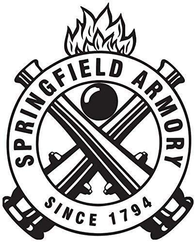 MFX Design Springfield Sticker Decal 3 in. Helmet Sticker Decal Bumper Sticker Decal Hard Hat Sticker Decal Springfield Armory Since 1794 Vinyl - Made in USA Approximately 3.125 in. Round