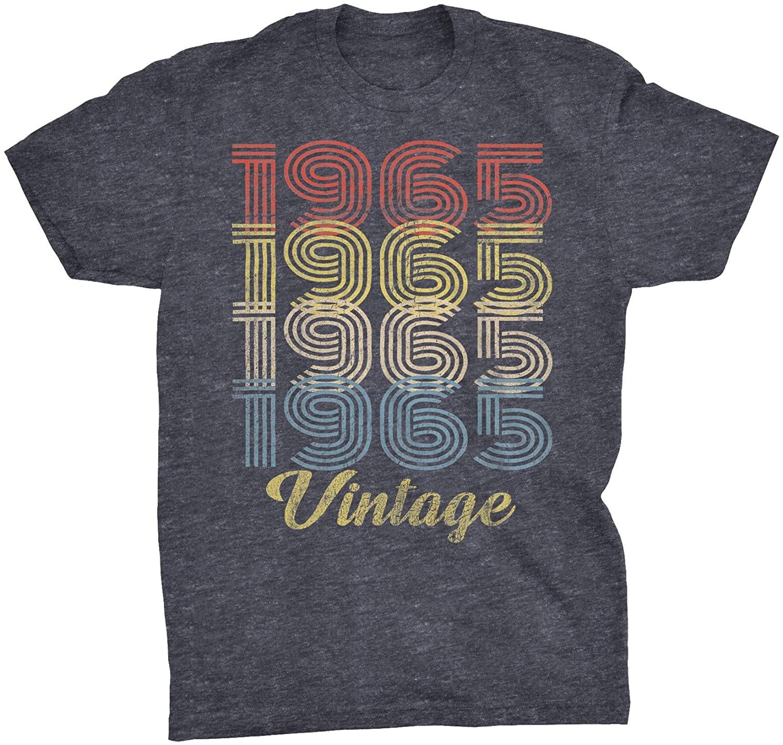55th Birthday Gift T-Shirt - Retro Birthday - Vintage 1965 Original Parts