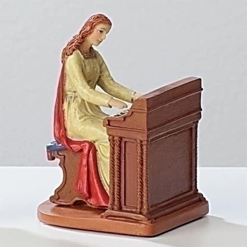 Roman St. Cecilia Figure and Prayer Card 40609
