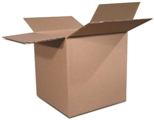 The Packaging Wholesalers 14 x 14 x 14 Inches Shipping Boxes, 25-Count (BS141414)
