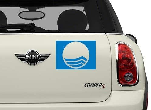 Blue Flag Misc Automotive Decal/Bumper Sticker