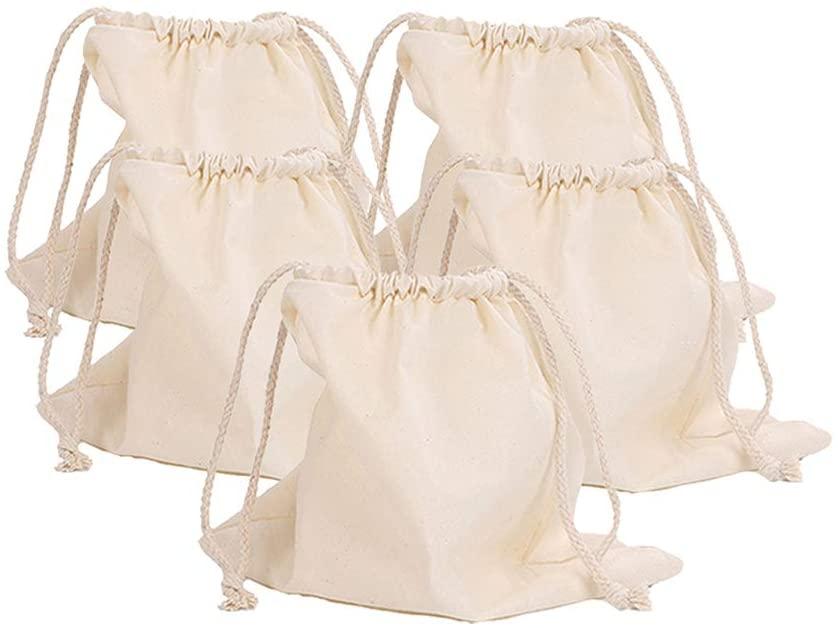 HXMLS 5Park Linen Bread Bags,Reusable Drawstring Bag For Loaf, Homemade Artisan Bread Storage Bag,Linen Bread Bags For Baguette …
