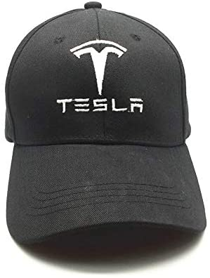 JDclubs Baseball Caps for Men and Women Hat Travel Cap Car Racing Motor Hat fit Tesla with Letter Accessory