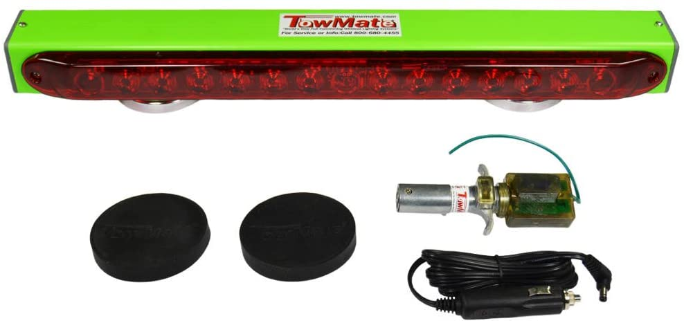 22'' Lime Light Wireless Tow Light Bar with 7 Pin RV Style Transmitter