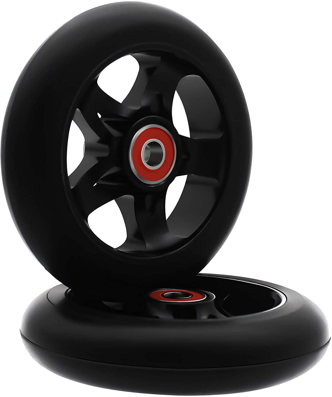 aibiku Pro Stunt Scooter Wheel 110mm Replacement Wheels with ABEC-11 Bearing - 2PCS