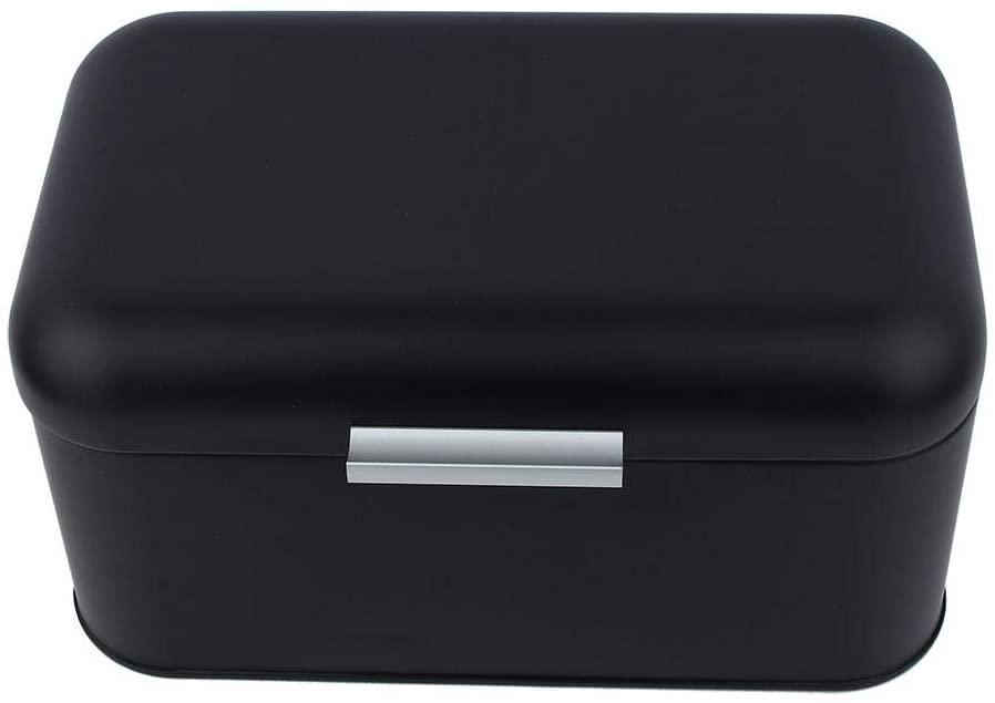Storage box, beautiful non-toxic bread box, for kitchen for living room(black)