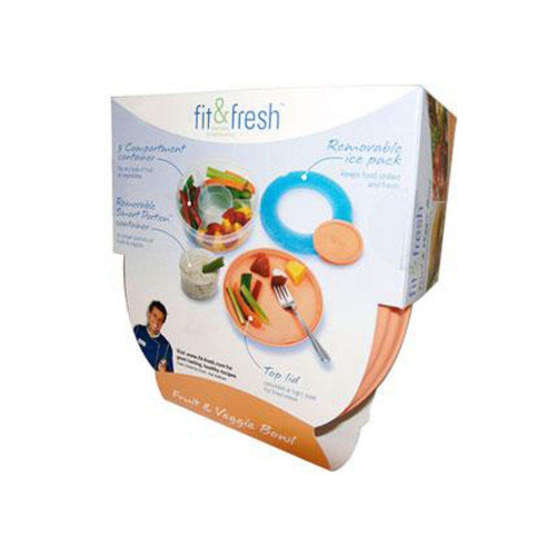 Fit & Fresh Food Transportation Fruit & Veggie Bowl (7 3/4