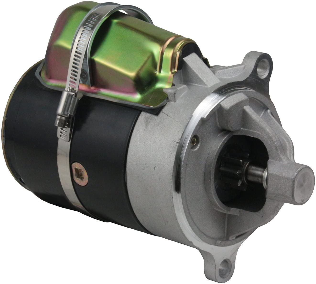 Rareelectrical NEW CCW STARTER COMPATIBLE WITH PLEASURECRAFT MARINE ENGINE 302CI 351CI 460CI D8FF-11001-EA