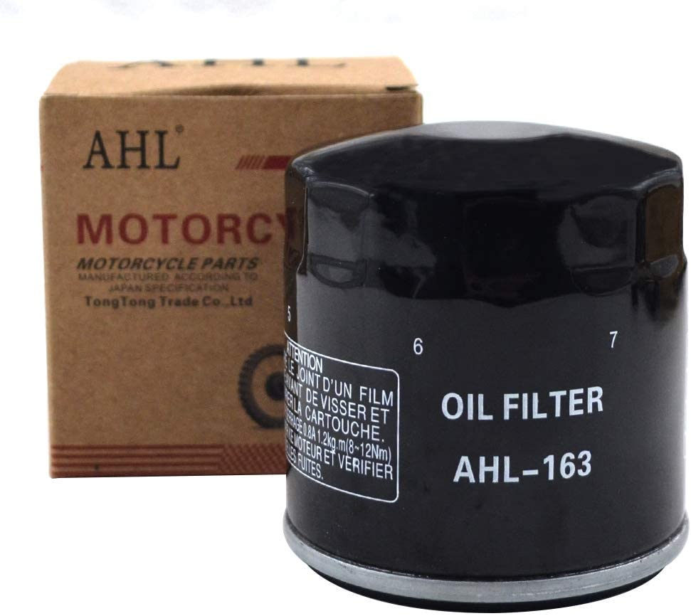 AHL 163 Oil Filter for BMW R1100S Boxer Cup 1100 2002 (1 PC)