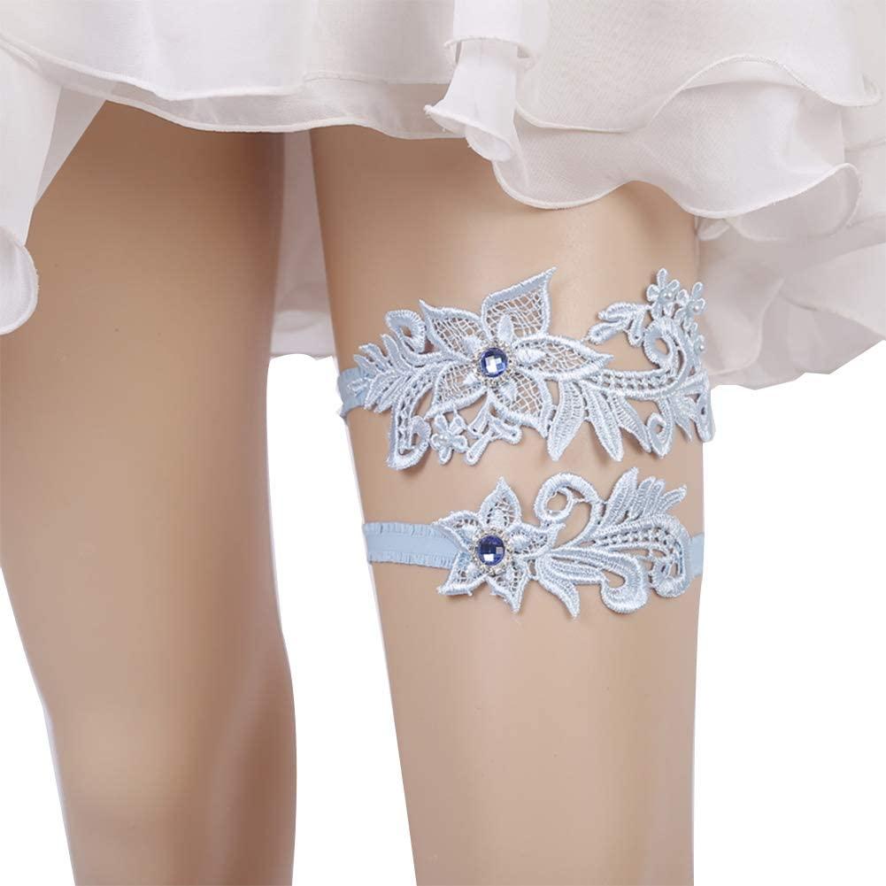 Finaze Wedding Lace Garter Set For Bridal, Women and Girl