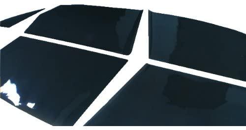 TRUE LINE Automotive TrueLine Precut Window Tint Kit Plus Install Squeegee for Audi A5 2 Door Coupe 2008 2009 2010 2011 2012 2013 2014