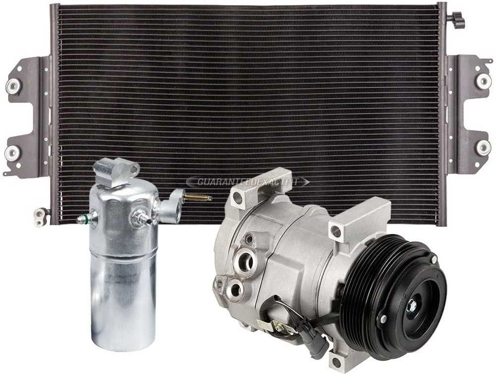 For Chevy Express 1500 2500 3500 AC Compressor w/A/C Condenser & Drier - BuyAutoParts 60-86802R3 New