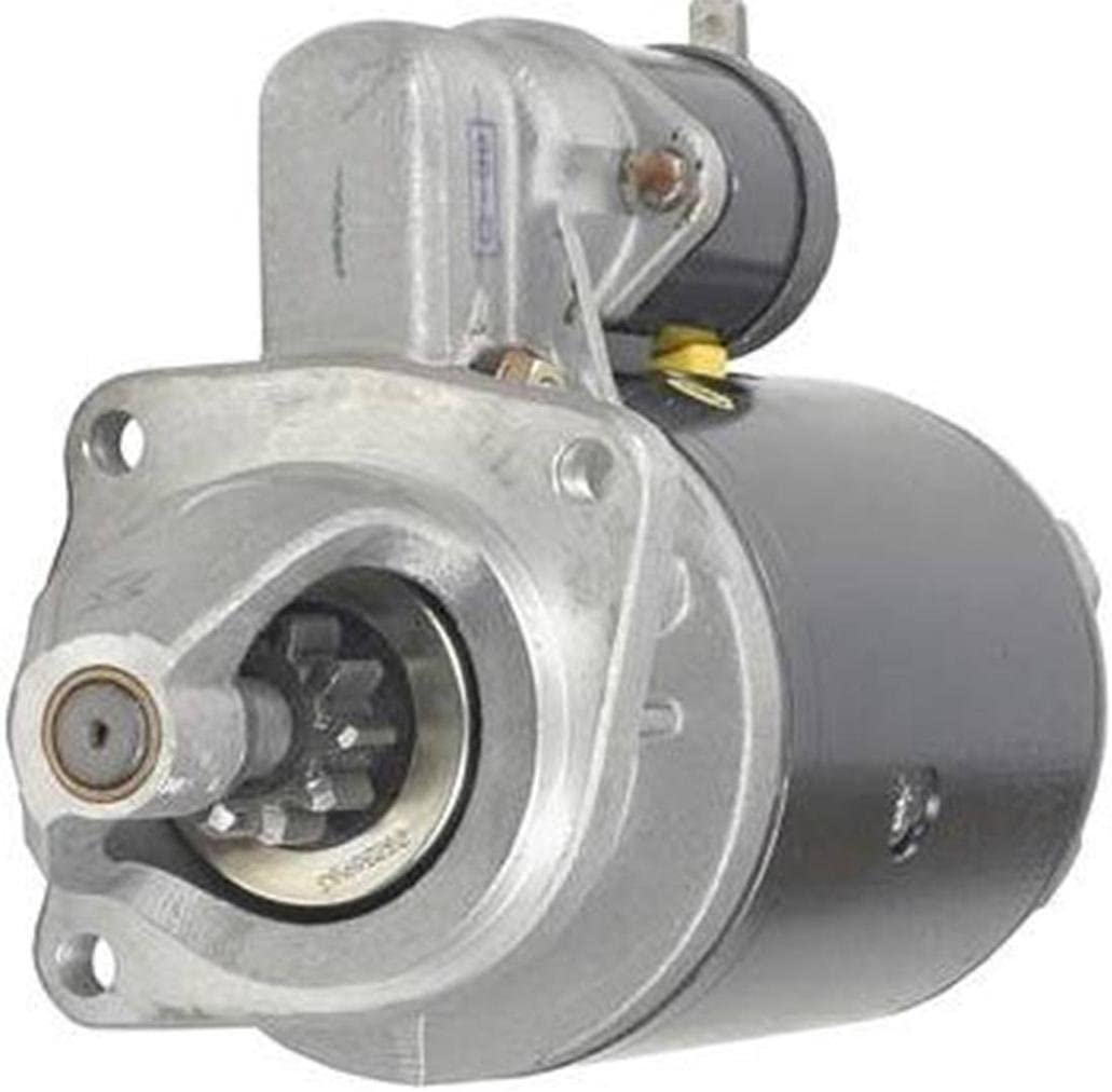 Rareelectrical NEW STARTER MOTOR COMPATIBLE WITH MASSEY FERGUSON TRACTOR MF-384 MF-394 27539E 27572 NSB529