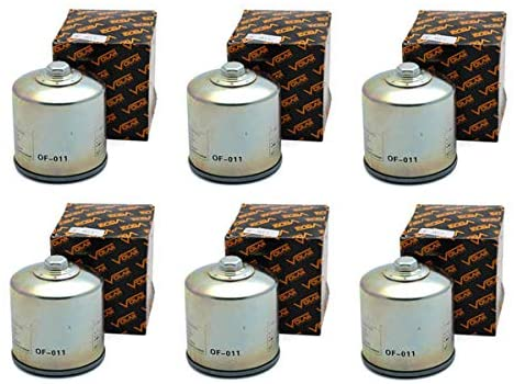 Volar Oil Filter - (6 pieces) for 1999-2005 BMW R1100S