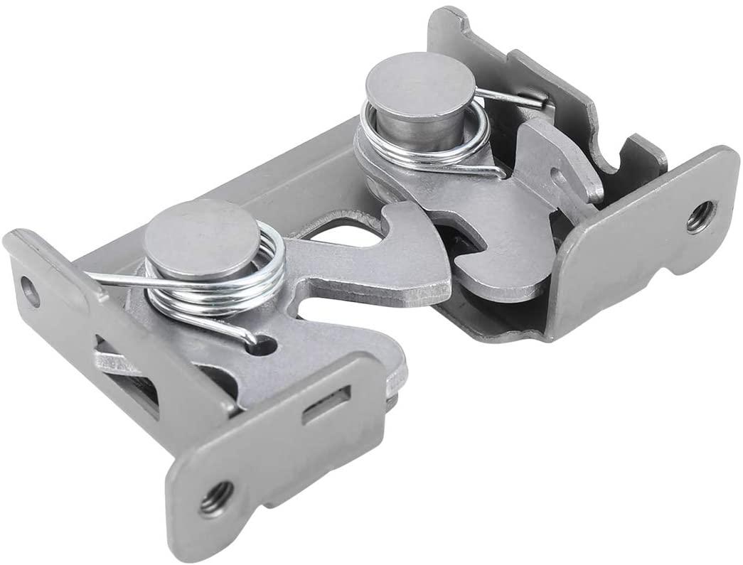 X AUTOHAUX Hood Lock Cylinder Hood Lock Block Latch Catch for BMW E60 E87 E90 51237115229